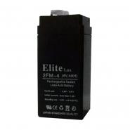 Аккумуляторная батарея Elite 4V 4Ah   (46 х 46 х 101мм)