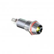 Сигнальная арматура AD22C-10  желтая 24V AC/DC