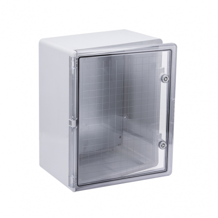 Корпус пластиковый ЩМПп 500х400х240мм прозрачная дверь УХЛ1 IP65 IEK - 1