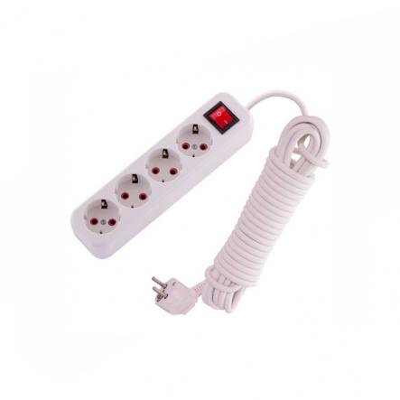 Удлинитель с/з 4 гн 10м.+выкл (12 шт.) - 1