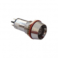 Сигнальная арматура AD22C-12  красная 24V AC/DC