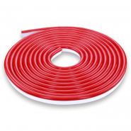 Светодиодная лента NEON 12В JL 2835-120 R IP65 красная, герметичная, 1м