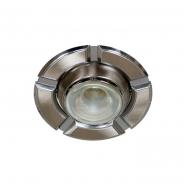 Светильник точечный R-50 Е14 жемчужный хром/хром