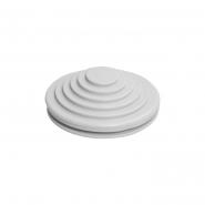 Сальник резиновый d=20mm (Dотв.бокса22mm ) белый ИЕК