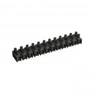 Зажим винтовой ЗВИ-10 н/г 2,5-6мм2 2х12пар IEK черные