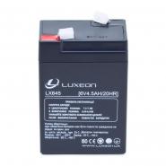 Аккумуляторная батарея   LX 645 6V 4.5AH LUXEON