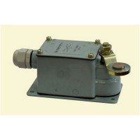 Выключатель концевой Промфактор ВП222Т4232-4-54У2(аналог ВК300) с рычагом рег.по наклону с роликом с каб.введ - 1
