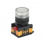 Светосигнальный индикатор IEK AL-22TE прозрачная d22 240B цил.