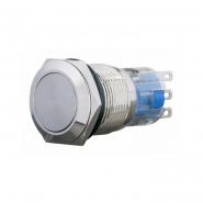 Кнопка металлическая 19мм 2NO+2NC TYJ 19-212 АСКО-УКРЕМ
