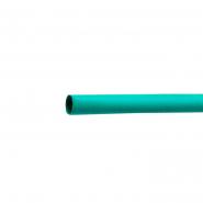 Трубка термоусадочная д.15 зеленая с клеевым шаром АСКО