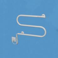 Полотенцесушитель электрический Змейка плюс левая 50вт 380*480*75