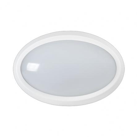 Светильник светодиодный LED ДПО 5020 8Вт 4000K IP65 овал белый IEK - 1