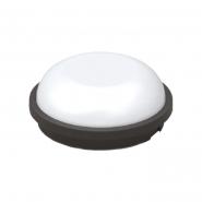 Светильник TEB Артос LED 15W чорний Круг ІР65 6400К
