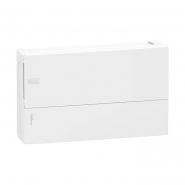 Щит распределительный навесной Schneider Electric Mini Pragma на 18 модулей Белая дверь