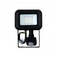 Прожектор ДО-15Sensor 10W  IP65 5000K Лм/Вт90 ЧЕРНЫЙ GALAXY