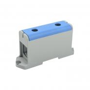 Клемма вводная силовая КВС 35-240 кв.мм. PE синий IEK