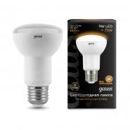 Лампа Gauss LED Black R63 9W E27 2700K