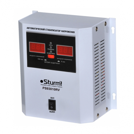 Стабилизатор напряжения PS93010RV STURM - 1