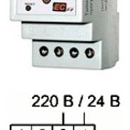 Реле Электросвит с программируемой ночным перерывом РЧ-525 16А