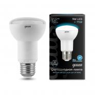 Лампа Gauss LED Black R63 9W E27 4100K