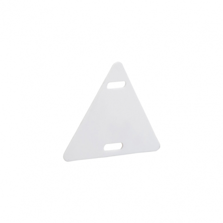 Бирка пластмассовая маркировочная У154 (шт), треугольная сторона 27мм - 1