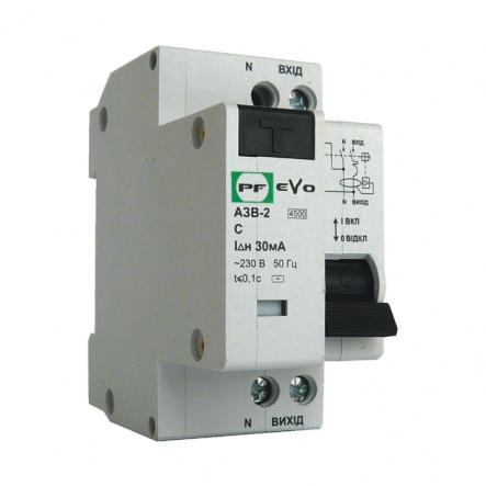 Дифференциальный автомат Промфактор ECO АЗВ-2-С10 30 230 УЗ - 1