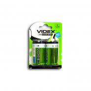 Батарейка LR20  2bl VIDEX  щелочная