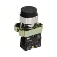 Кнопка управления LAY5-BL21 без подсветки черная 1з ИЕК