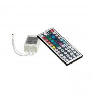 Контроллер #22 RGB 12А инфракрасный  44 кнопки 72W/12V для RGB ленты