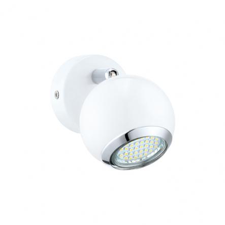 "Бра 1 2,5W GU10 LED белий-хром ""Бимеда"" - 1"
