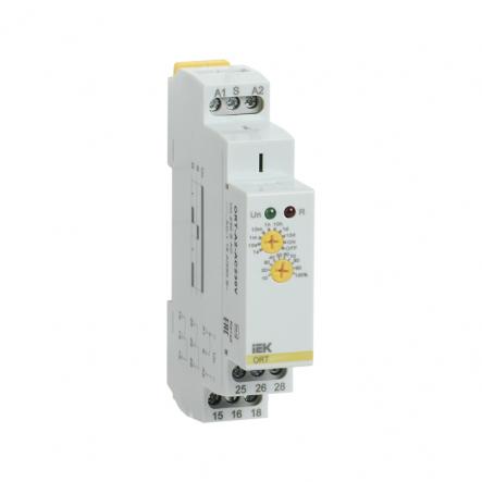 Реле задержки включения IEK ORT 2 конт. 230В AС ORT-A2-AC230V - 1