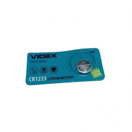 Батарейка CR 1225 VIDEX - 1