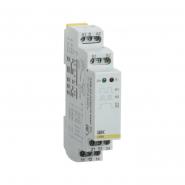 Импульсное реле  IEK  ORM. 2 конт. 12-240 В AC/DC ORM-02-ACDC12-240V