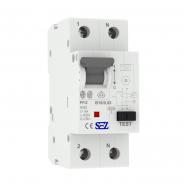 Дифференциальный автоматический выключатель СЕЗ PF12 B 16A/0.03A