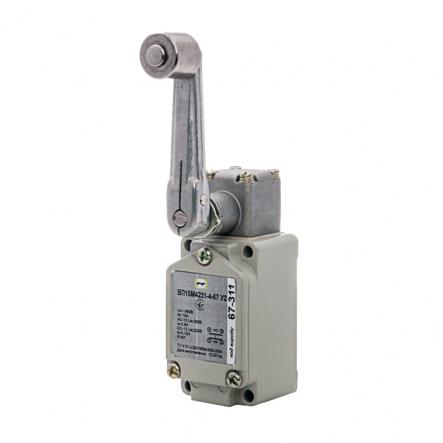 Выключатель концевой Промфактор ВП 15М 42311 ролик на удлиненном рычаге IP67 - 1