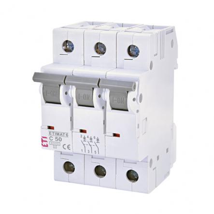 Автоматический выключатель ETI S-193 С 50A 3p 6kA 2145521 - 1