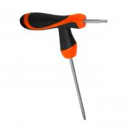 Ключ TORX Т-образная рукоятка Т10 3*75 STURM