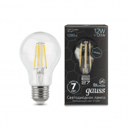 Лампа Gauss LED Filament Graphene  A60  E27 12W 4100К