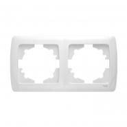 Рамка  двойная белый VIKO Серия CARMEN