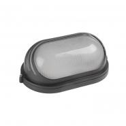 Светильник НПП1207 черный-овал ресничка  100Вт IP54 ИЕК