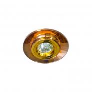 Светильник точечный Feron MR-11 35W коричневый золото