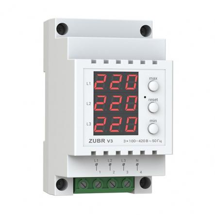Вольтметр-цифровой индикатор напряжения glaz V3(ZUBR) - 1