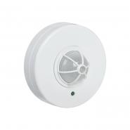 Датчик движения IEK ДД 024 белый 1100 Вт радиус 120-360град.,6м IP33 арт. LDD11-024-1100-001