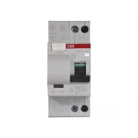 Дифференциальный автомат DS951C25-30MA/AC ABB - 1