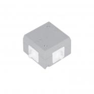 Коробка распределительная 80х80х36  IP55 с крышкой
