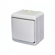 Выключатель 1-клавишный с подсветкой (IP44) VHE-1L