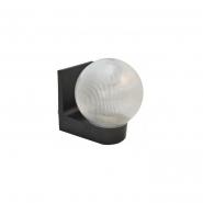 Светильник настенный шар прозрачный ребристый Е-27, 623 АСКО
