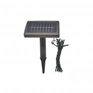 Светильник на солнечн батареях 25 RGB LED