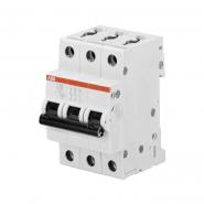 Автоматический выключатель ABB S203 C1,6 3п 1,6А