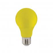 Лампа LED 3W E27 желтая 10/100 HOROZ